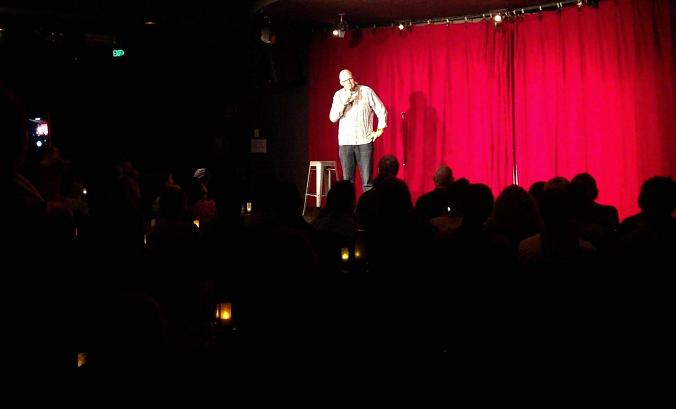 Sean Morahan at Comedy Store, Sydney